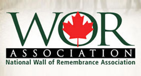 WOR Association logo - national wall of remembrance association