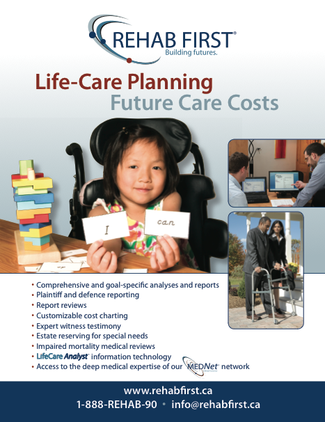 Life care planning summary brochure cover